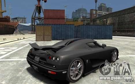 Koenigsegg CCXR Edition V1.0 for GTA 4 right view