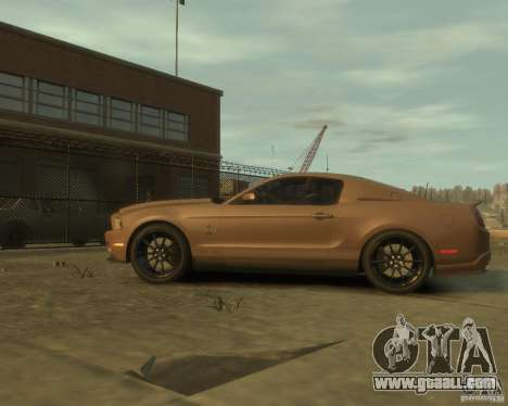 2011 Shelby GT500 Super Snake for GTA 4 left view