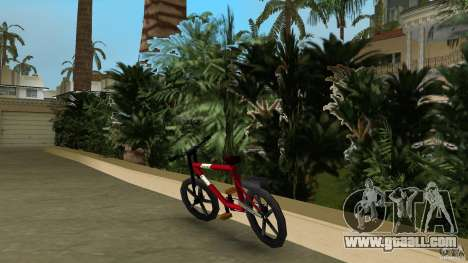Mountainbike (Rover) for GTA Vice City back left view