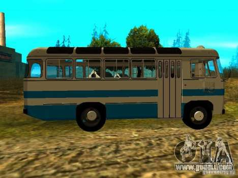 GROOVE 672.60 Version for GTA San Andreas back left view