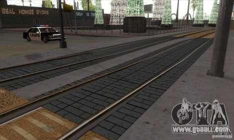 Russian Rail v2.0 for GTA San Andreas third screenshot