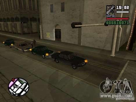 Turn signals 2.1 for GTA San Andreas