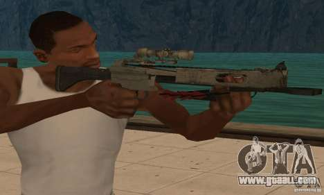 Black Ops crossbow for GTA San Andreas third screenshot