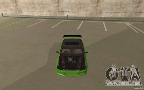 Toyota Altezza Toy Sport for GTA San Andreas back left view