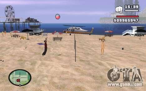 SA Volleyball for GTA San Andreas third screenshot