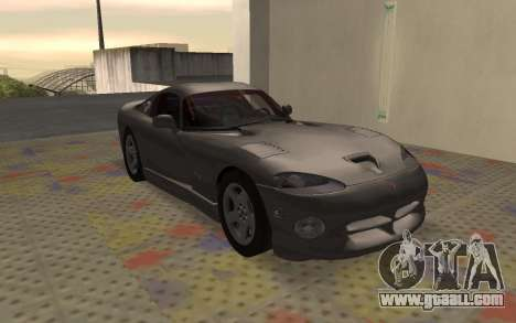Dodge Viper GTS Tunable for GTA San Andreas left view
