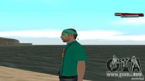 Skin Pack The Rifa Gang HD for GTA San Andreas second screenshot