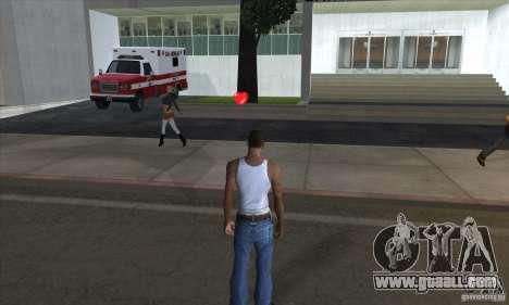 First aid kit 1.0 for GTA San Andreas third screenshot
