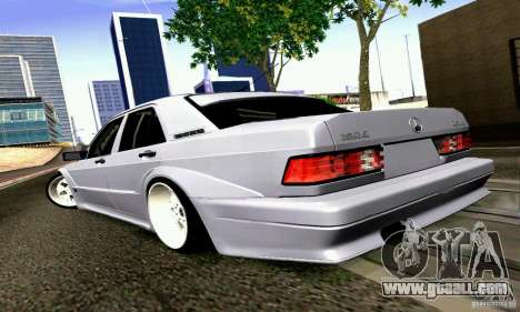 Mercedes-Benz 190E Drift for GTA San Andreas left view