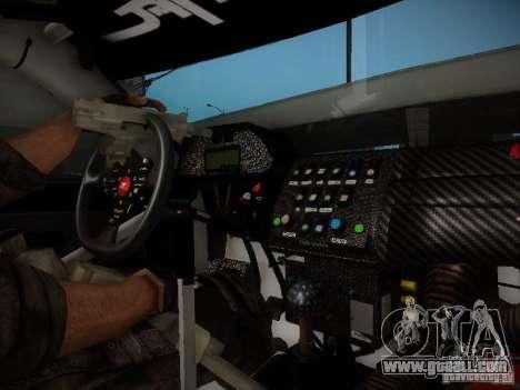 Nissan Silvia S13 Daijiro Yoshihara v2 for GTA San Andreas inner view
