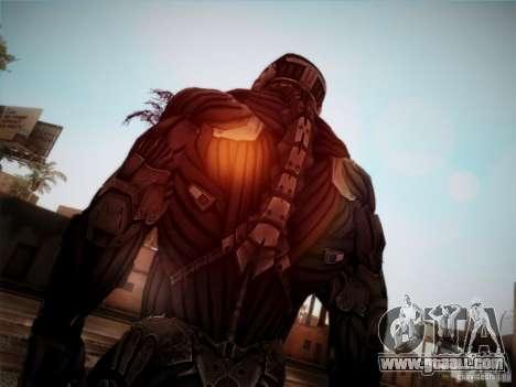 Crysis 2 Nano-Suit HD for GTA San Andreas third screenshot