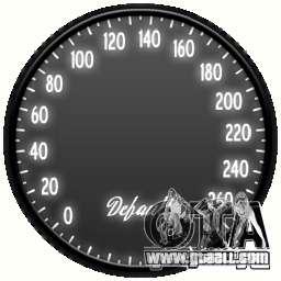 Speedometer IV (2 Skins) for GTA 4
