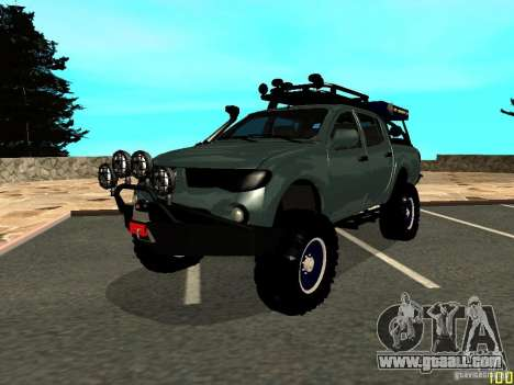 Mitsubishi L200 for GTA San Andreas