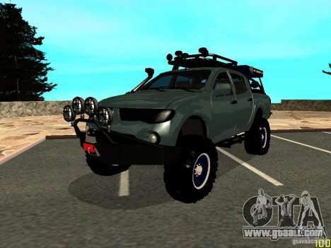 Mitsubishi L200 for GTA San Andreas