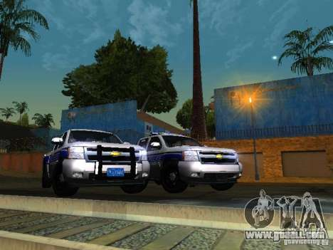 Chevrolet Silverado Rockland Police Department for GTA San Andreas