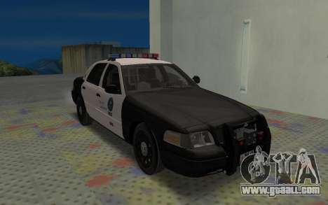 Ford Crown Victoria Police Interceptor LSPD for GTA San Andreas left view