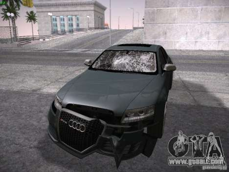 Audi RS6 2009 for GTA San Andreas side view