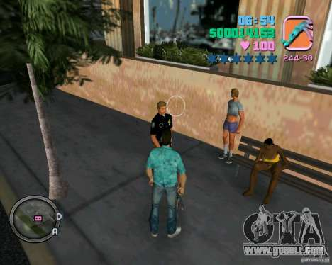 New clothes cops for GTA Vice City forth screenshot