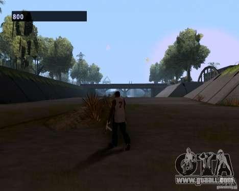 Gangster gait for GTA San Andreas forth screenshot
