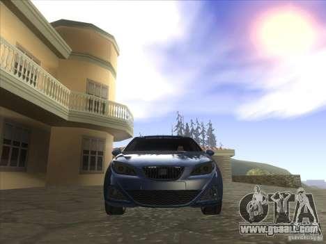 Seat Ibiza 2008 for GTA San Andreas back view