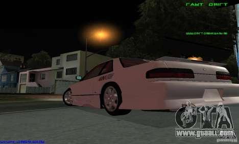 Nissan Silvia S13 Tunable for GTA San Andreas engine