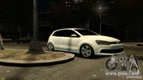 Volkswagen Polo v1.0 for GTA 4 left view