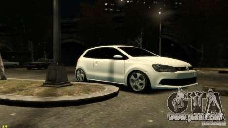 Volkswagen Polo v1.0 for GTA 4 left view