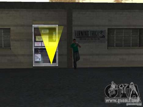 Realistic driving school v1.0 for GTA San Andreas