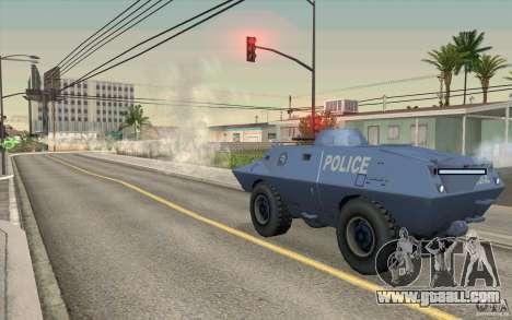 Guard on BTR for GTA San Andreas forth screenshot