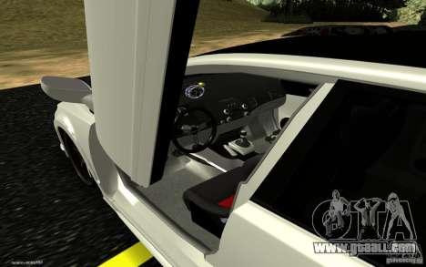 Honda Civic Type R for GTA San Andreas back view