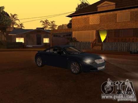 Audi TT 3.2 Quattro for GTA San Andreas left view