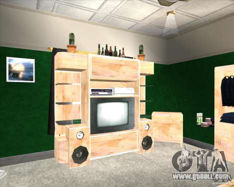 New Interior of CJs House for GTA San Andreas second screenshot