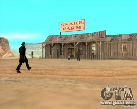 Cowboy duel v2.0 for GTA San Andreas third screenshot