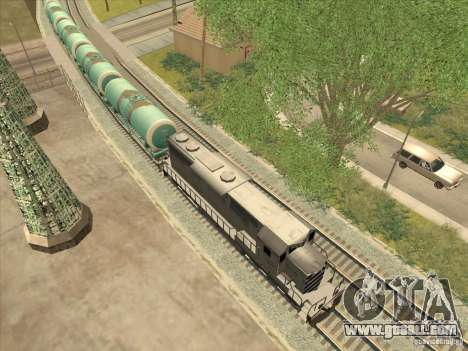 Tank No. 517 94592 for GTA San Andreas left view