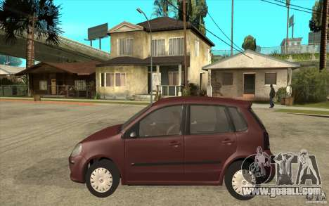 Volkswagen Polo 2006 for GTA San Andreas left view