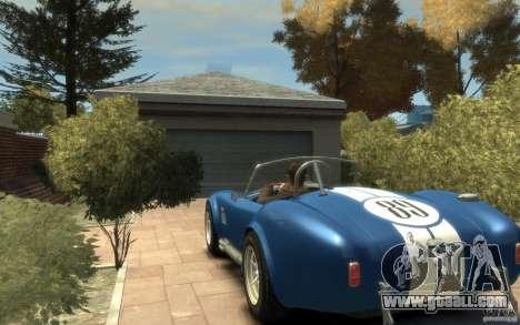 Shelby Cobra 427 SC 1965 for GTA 4 back left view
