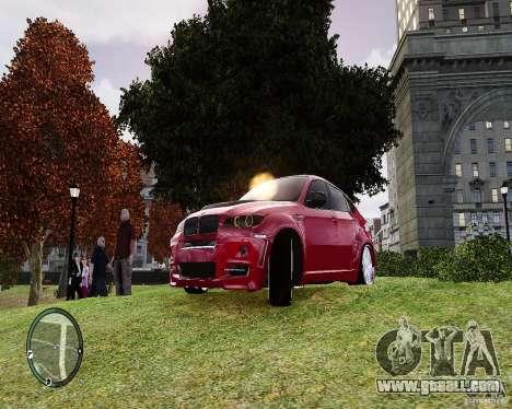 BMW X6M Lumma for GTA 4