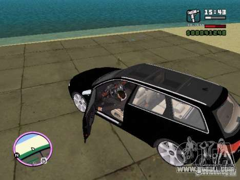 Audi A4 avant 3.2 QUATTRO for GTA Vice City left view