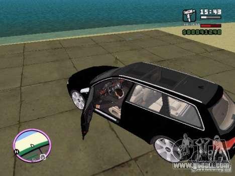 Audi A4 avant 3.2 QUATTRO for GTA Vice City left view
