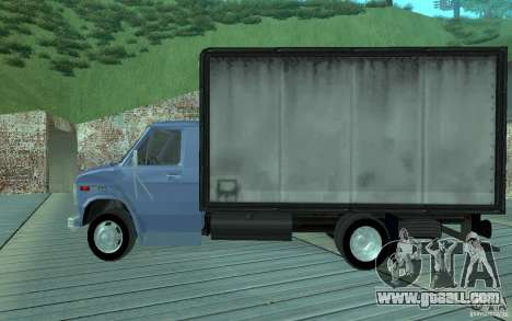 Chevrolet 250 HD 1986 for GTA San Andreas left view