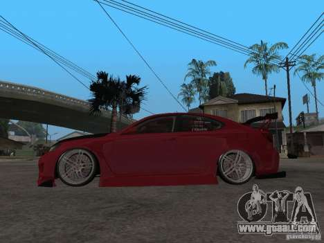 Lexus Drift Car for GTA San Andreas left view