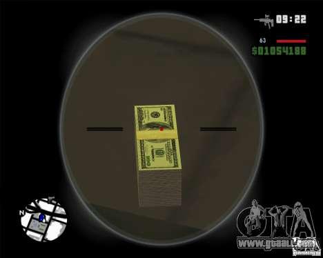 HD money for GTA San Andreas second screenshot