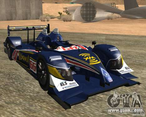 Acura ARX LMP1 for GTA San Andreas left view