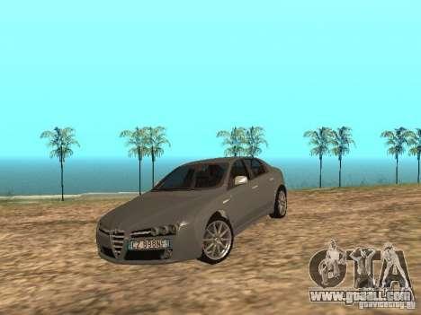 Alfa Romeo 159Ti for GTA San Andreas