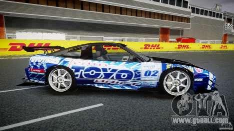 Nissan 240sx Toyo Kawabata for GTA 4 side view
