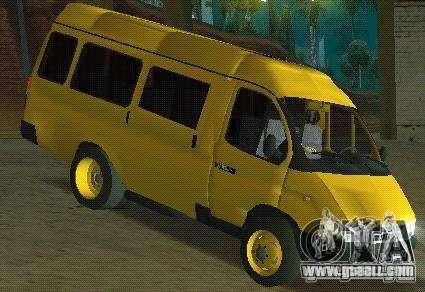 Gazelle taxi for GTA San Andreas