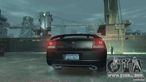 Dodge Charger 2007 SRT8 for GTA 4 back left view