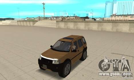 Land Rover Freelander KV6 for GTA San Andreas
