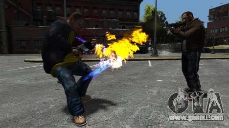 Fire bullets for GTA 4