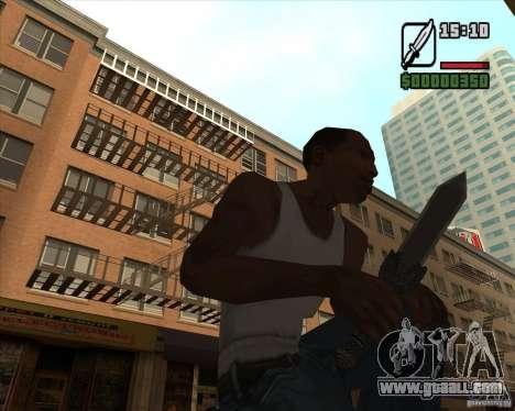 Gladius Knife for GTA San Andreas second screenshot